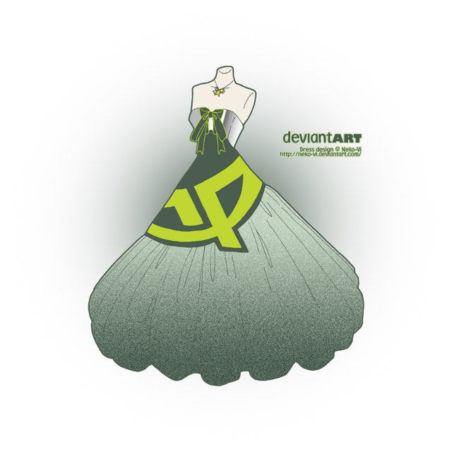 If Your Favorite Websites Were Made Into Fabulous Dresses