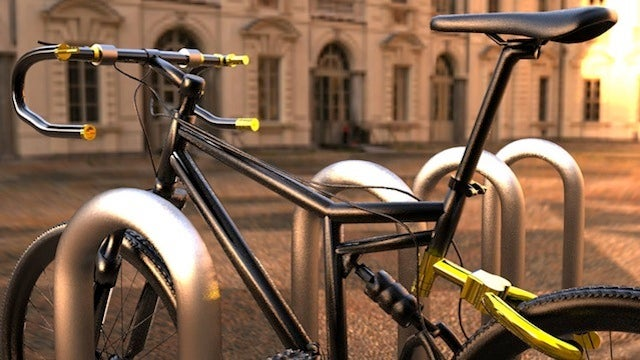 This Bike's Transforming Handlebar Lock Makes it Unrideable for Potential Thieves