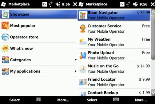 Windows Marketplace for Mobile Will App-ify All 6.x Handsets, Not Just 6.5