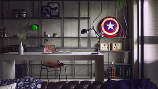 The Avengers-Themed Workspace