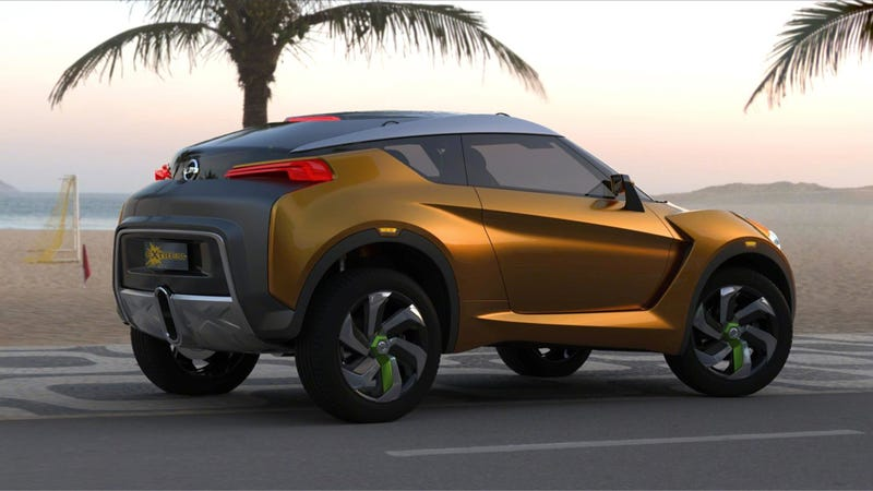 Is This Nissan EXTREM For Brazilian Hipsters?