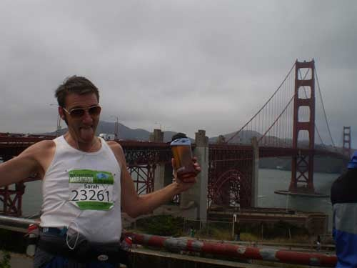What Would Happen If You Drank 13 Beers While Running The San Francisco Half-Marathon?