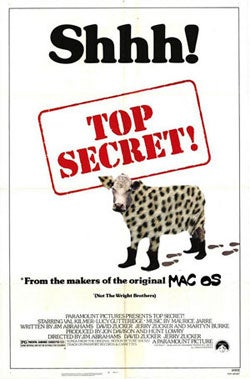 """Rumor: Apple To Add """"Top Secret"""" Features To Leopard"""