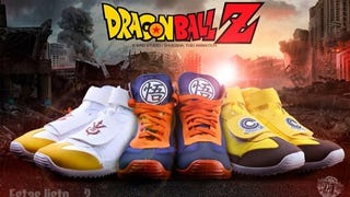 <i>Dragon Ball</i> Sneakers Are Real