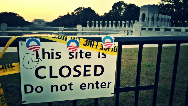 6 Photos Of The Government Shutdown