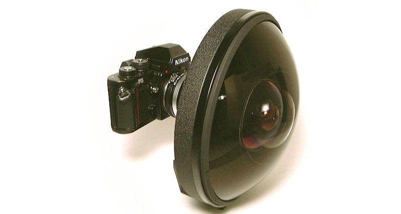 This Crazy 1970s Fisheye Lens Could Be Yours For $160,000