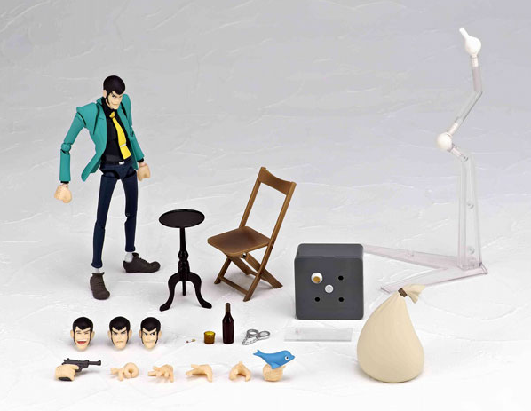 These Lupin the Third Figures Want to Steal Your Shelf