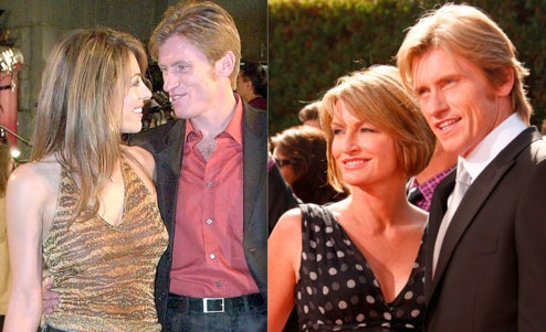 Elzabeth Hurley Still Not Enraging Denis Leary's Wife