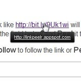 LinkPeelr Expands Shortened URLs in Google Chrome