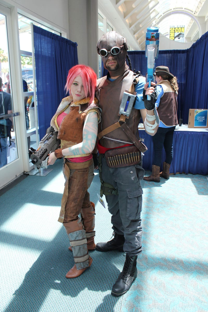 The Video Game Cosplay of Comic-Con - Day One