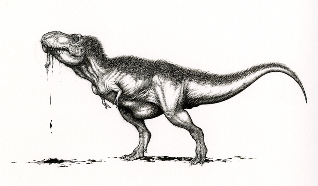 For Dino Geeks, the Twitter #SciArt Storm Was Undeniably Awesome