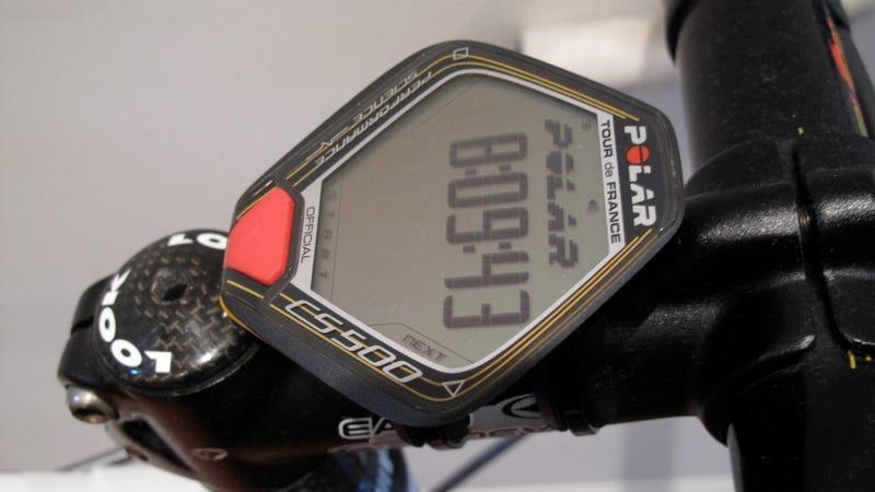 Polar Tour de France CS500 Bike Computer: Rides Hard, But Not Easy