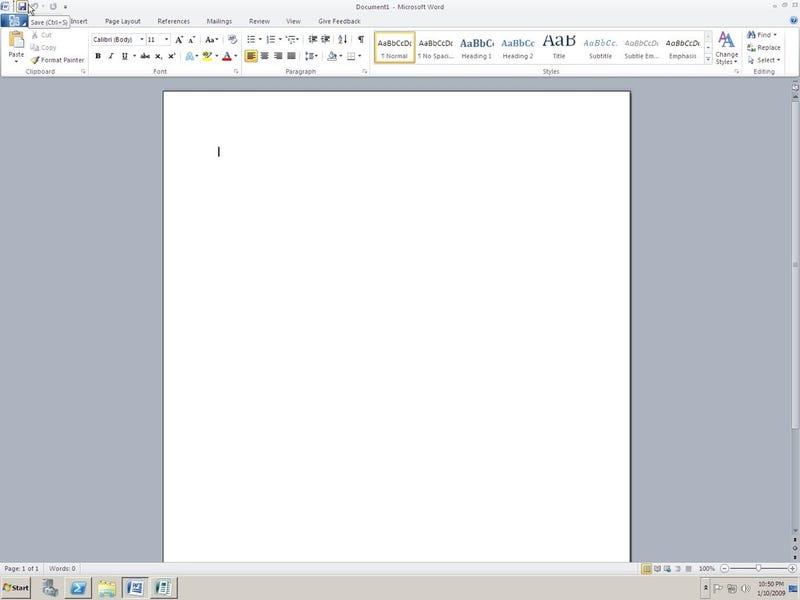 Office 14 Screenshots Leaked