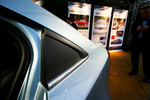2011 Chevrolet Cruze Gallery: L.A. Show