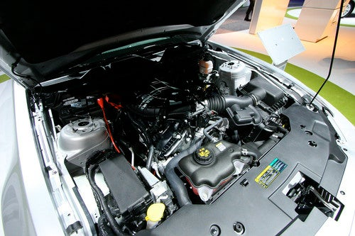 2011 Ford Mustang V-6 Gallery