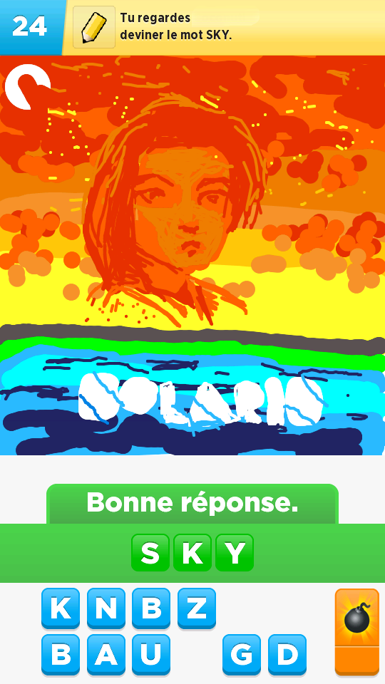 At Least One Man Still Plays Draw Something, And He's Damn Good