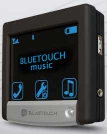 Peiker BlueTouchMusic: Music from Cellphone to Car via Bluetooth