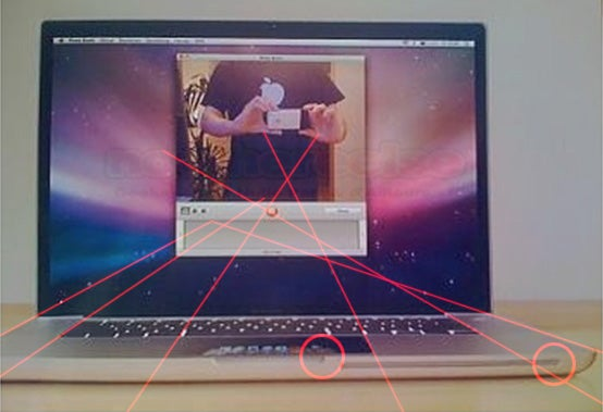 Rumored MacBook Pro Spy Shot Has Touchpad Display, Yet Terrible Photochop Flaws