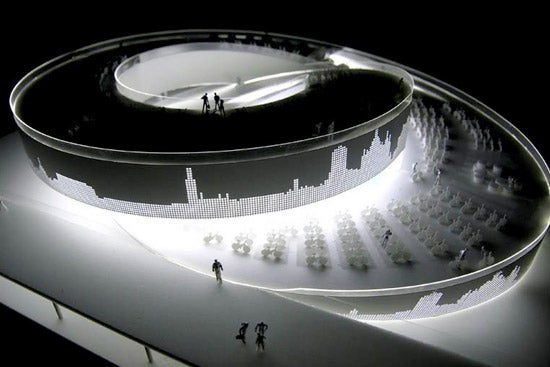 The Twirly Danish Pavilion at the Shanghai Expo 2010