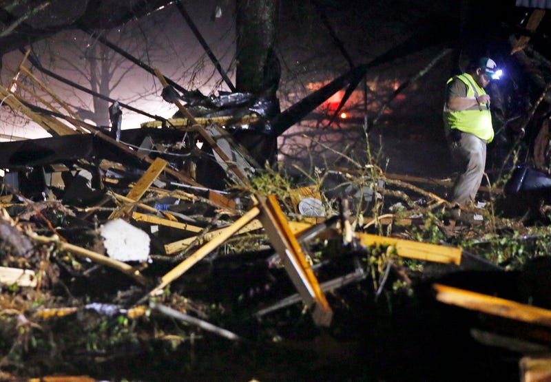 At Least 13 Killed as Tornadoes Sweep Across the South