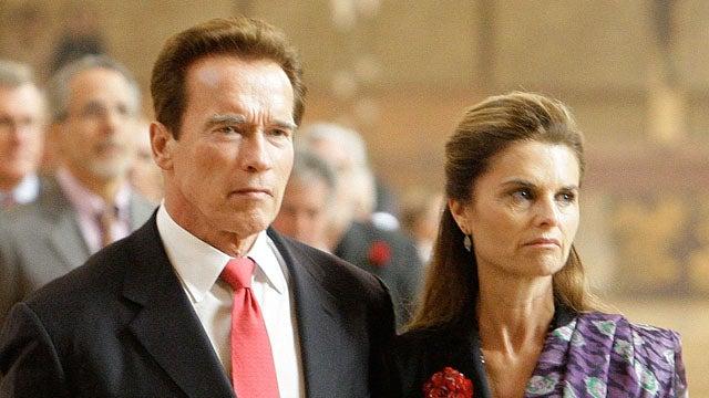 Arnold Schwarzenegger & Maria Shriver Separate