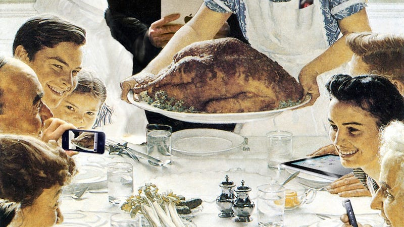Happy Thanksgiving from Gizmodo
