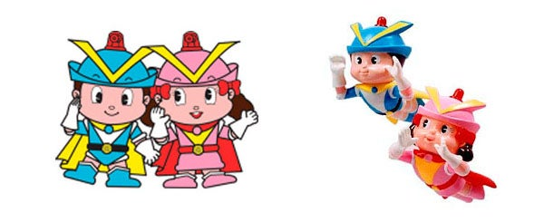 Japan's police mascots include robots and sentient grains of rice