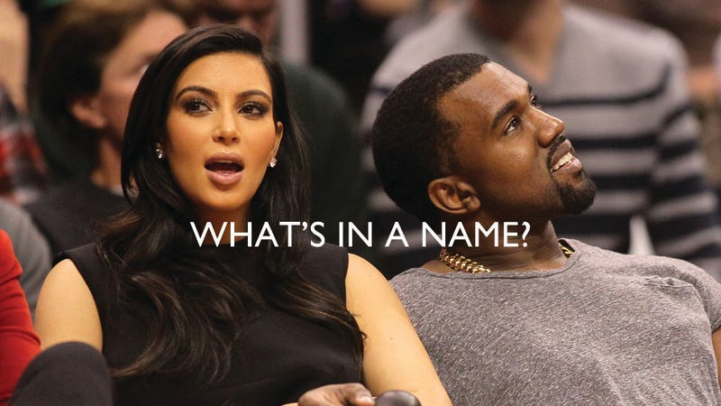 Dear Kimye, Please Let Us Name Your Baby