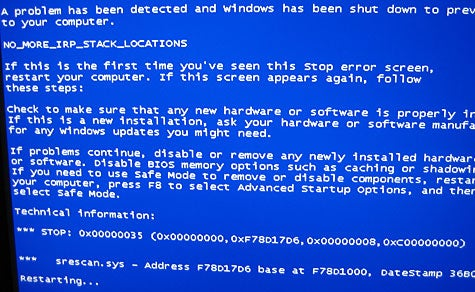 Download of the Day: BlueScreen Screen Saver (Windows)