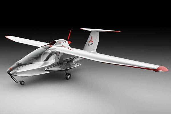 Foldable Airplane Is Designed For Thrill-Seeking Wusses