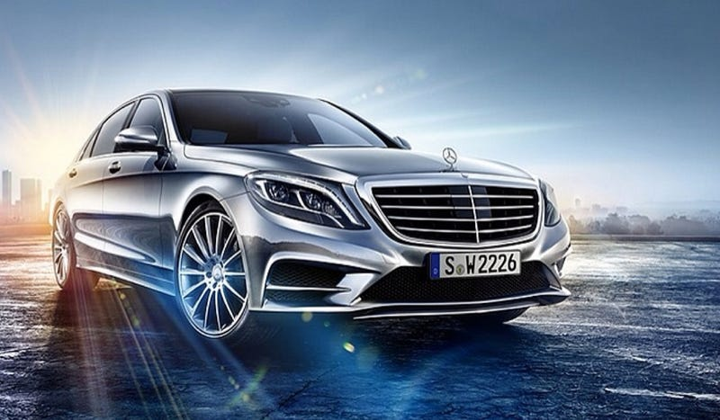 2014 Mercedes-Benz S-Class: This Is The Front Of It