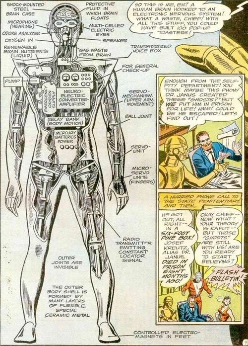 Cyborgs, 1960s and Before