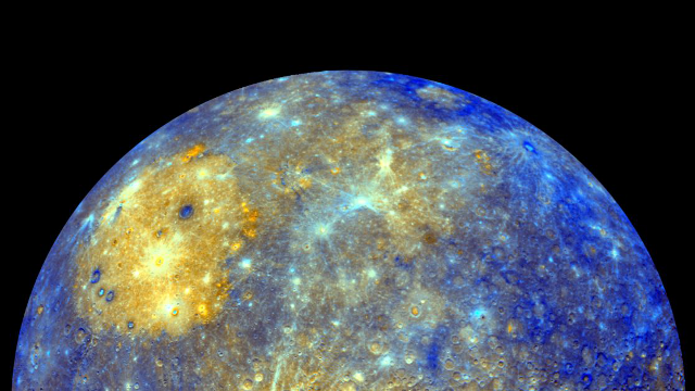 Mercury is our solar system's incredible shrinking planet