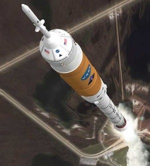 NASA's Ares 1 Rocket in Trouble Again: Could Crash Into Launch Tower