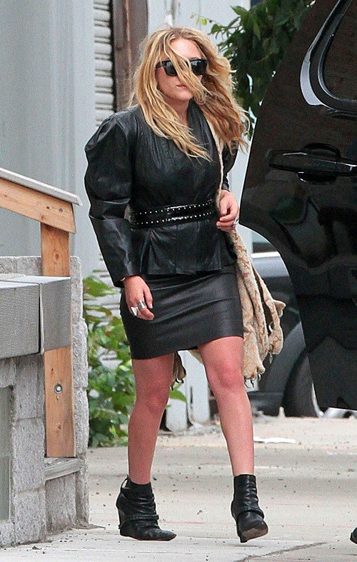 Mary-Kate Olsen After A Hard Day of Stomping People