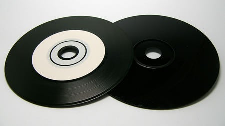 Retro eMARK Black Diamond Groove Vinyl CD-Rs