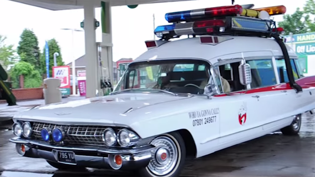 Guy Spent Three Years Making His Own Ghostbusters Ecto-1 Tobey Maguire Movies
