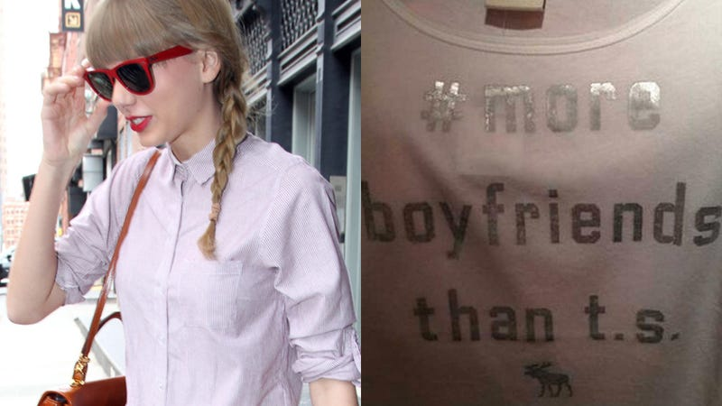 Taylor Swift Tee Discontinued by A&F After Fans Unleash Their Wrath