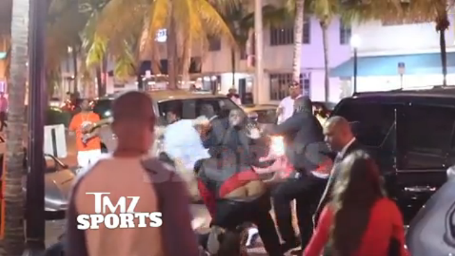 Here's Video Of Mike Evans Fighting With Nightclub Bouncers
