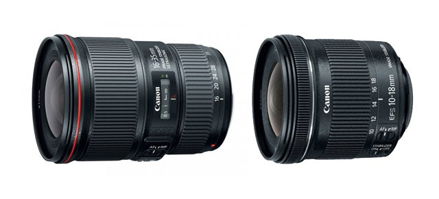 Canon Announces New Ultra Wide Lenses With Image Stabilization