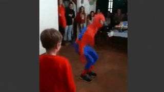 Amateur Spider-Man Fails Backflip, Destroys Face