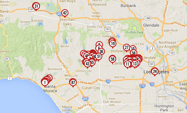 Map: 162 Properties Owned By Infamous Racist Donald Sterling