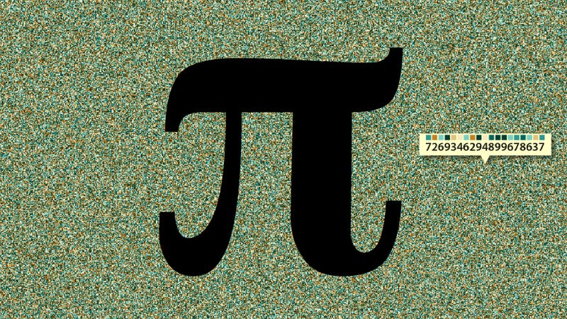 The first 4,000,000 digits of Pi, visualized in a single image