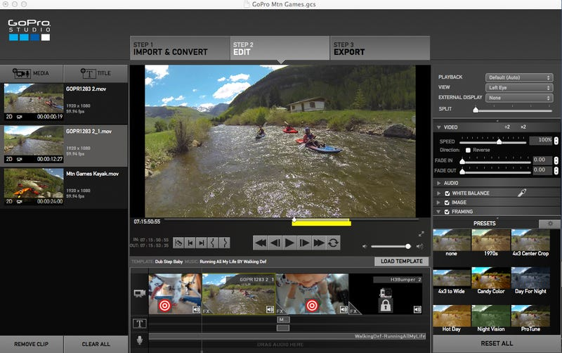 Gopro studio 2 0 hands on easier awesomer videos update for How to use gopro studio templates