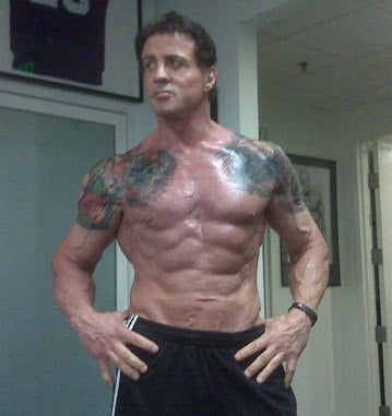 Sylvester Stallone Now Just Enjoying HGH For Three Meals A Day