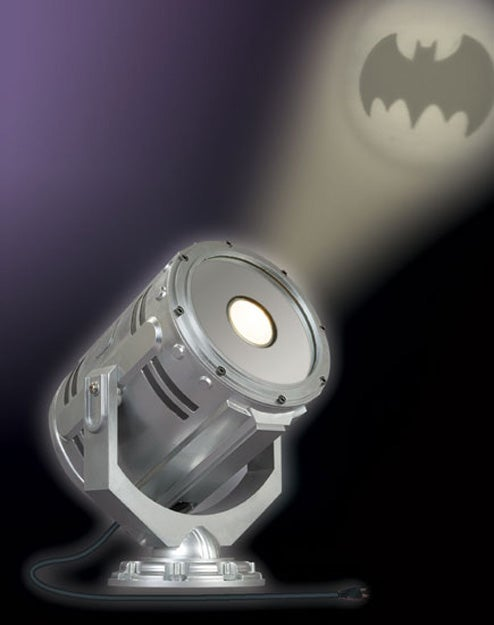 Desktop Bat-Signal For Cubicle Crime Fighters