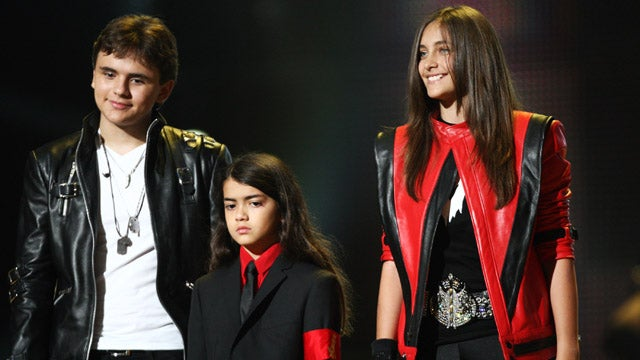 Michael Jackson's Kids Speak At Star-Studded Tribute Concert
