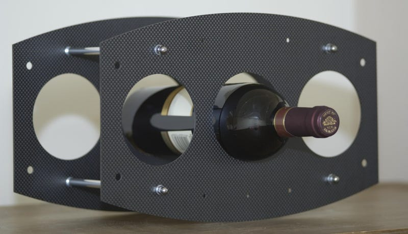 If We Can't Have Our Supercars, At Least Give Us a Carbon Fiber Wine Rack
