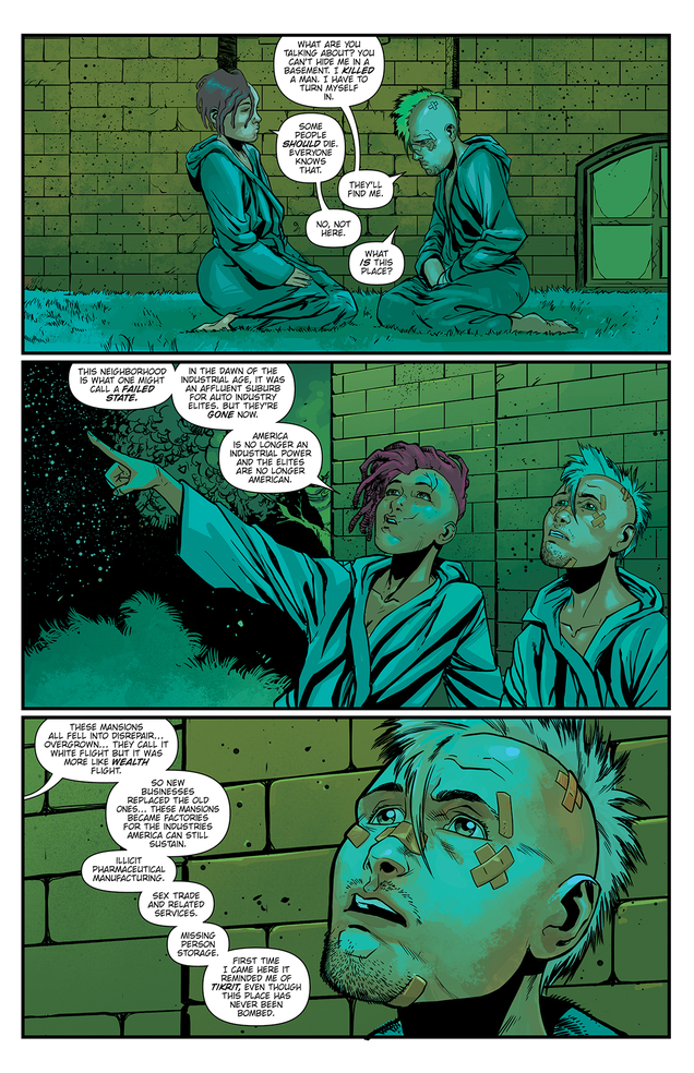Americans Rebel Against Their Surveillance State in Preview for Comic Young Terrorists