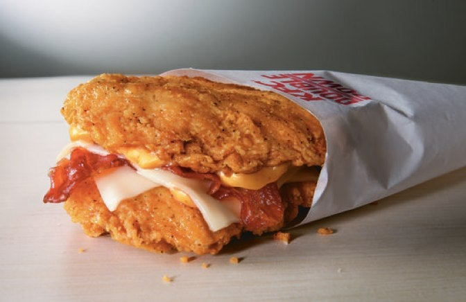KFC Is Bringing Back the Double Down